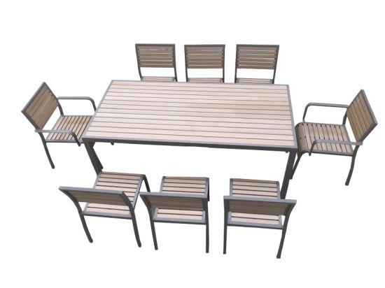 Hot Sale Plastic Wood Outdoor Furniture