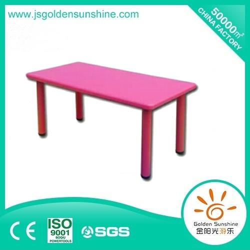 Indoor Playground Children/Kids Preschool Furniture Plastic Table with Ce/ISO Certificate