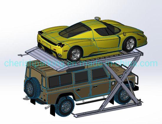 2700kg Scissor Parking Lift