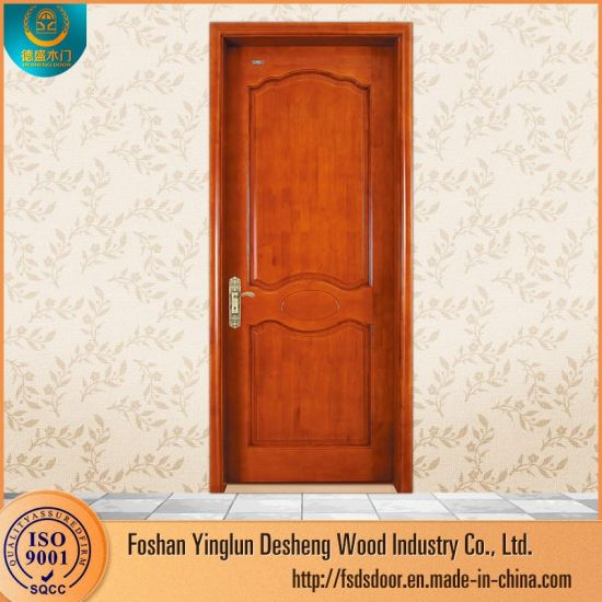 China Desheng Creative New Style Solid Wooden Front Door China