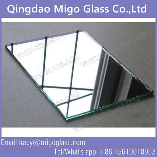 China 3mm Double Coated Green Painting Aluminium Glass Mirror For Cabinet China Glass Mirror Aluminium Mirror