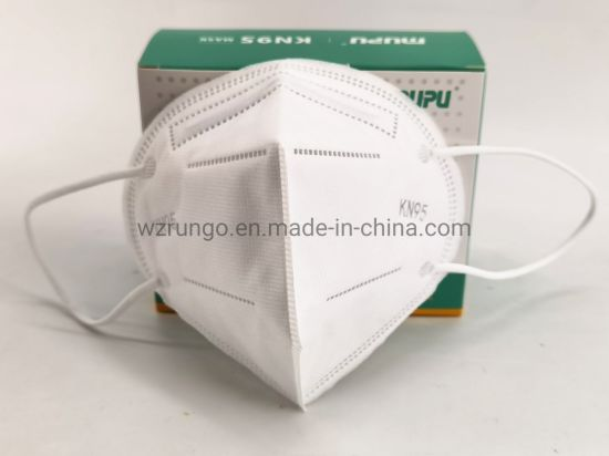 Face Mask KN95 in Stock Disposable 3D Fold Dust KN95 Face Mask