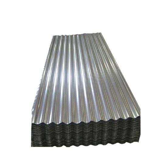 Dx51d Zinc Building Material Gi Corrugated Steel Roofing Sheet