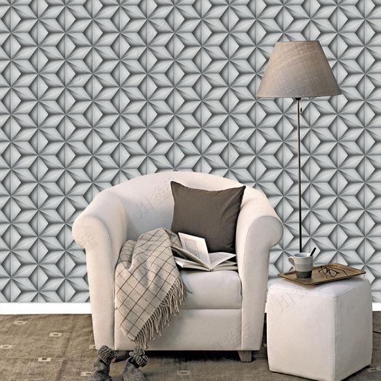Wall Decoration 3D PVC Vinyl Waterproof Wallpaper For Home Decor