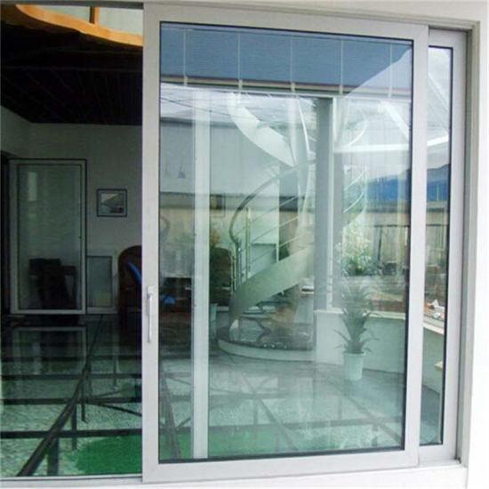 Tempered Glass Sliding Door/Aluminium Frame Tempered Glass Interior Door