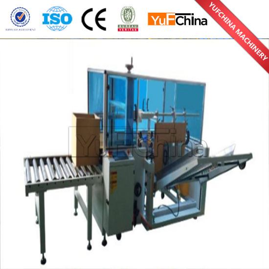 Hot Sale Semi Automatic Adhesive Tape Carton Sealer Machine Price pictures & photos