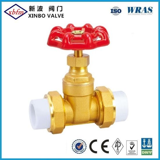 Good Quality PPR Gate Valve PPR Stop Brass Valve Manufacturer pictures & photos