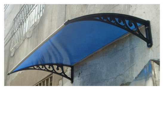 Economy Cheap Price DIY Manual Polycarbonate Overdoor Canopy 100 X 120cm Size  sc 1 st  Guangdong Junnai Shading Material Sci. u0026 Tech. Co. Ltd. & China Economy Cheap Price DIY Manual Polycarbonate Overdoor Canopy ...
