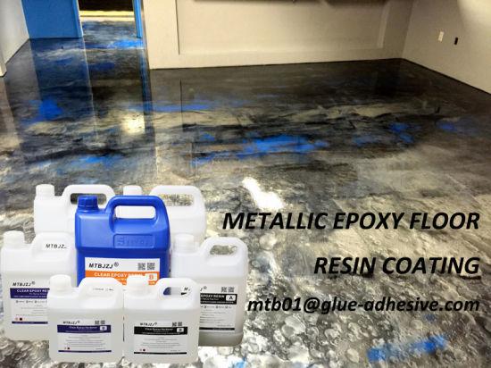 Metallic Epoxy Floor Coating System