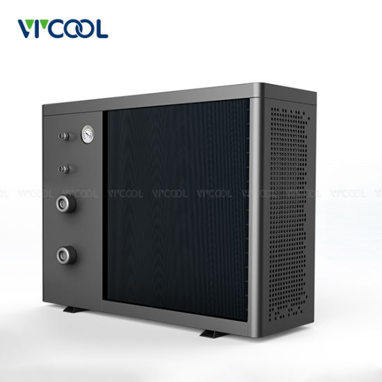 Stainless Steel Shell Inverter Swimming Pool Heat Pump Water Heater Air Source pictures & photos