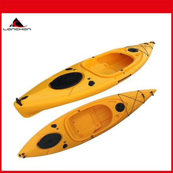 10FT New Standard Plastic Touring Kayaks Double Sit in Peddal Kayaks
