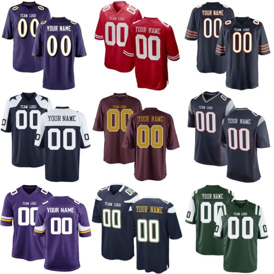 Customize Brady Mack Prescott Mayfield Barkley Rodgers Wentz Watt Football Jerseys