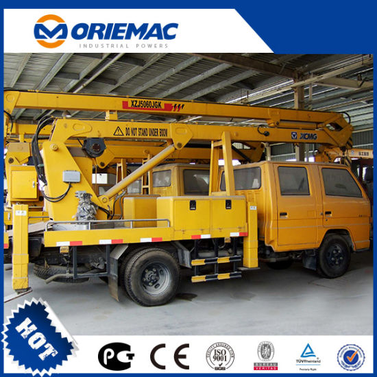 XCMG 16m Electric Aerial Work Platform Zz14AC for Sale pictures & photos