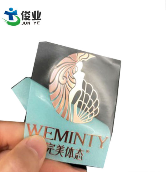 Metal Nickel Label Metal Label Ultra-Thin Metal Stickers Custom-Made Metal Logo Signs Electric Label pictures & photos