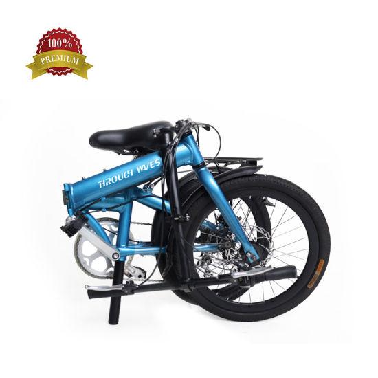 20 Inch Aluminum Frame Folding Bike 7speed