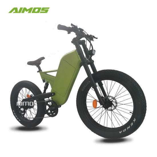 Double Suspension Fat Tire Electric Bike 1000W with Lithium Battery