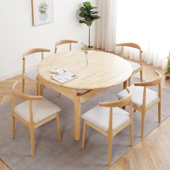 Modern Wooden Living Room Home Apartment Restaurant Canteen Home Dining Furniture