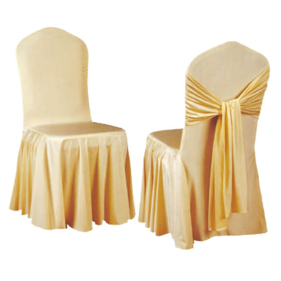 Top Furniture Wedding Chair Cover and Table Cloth