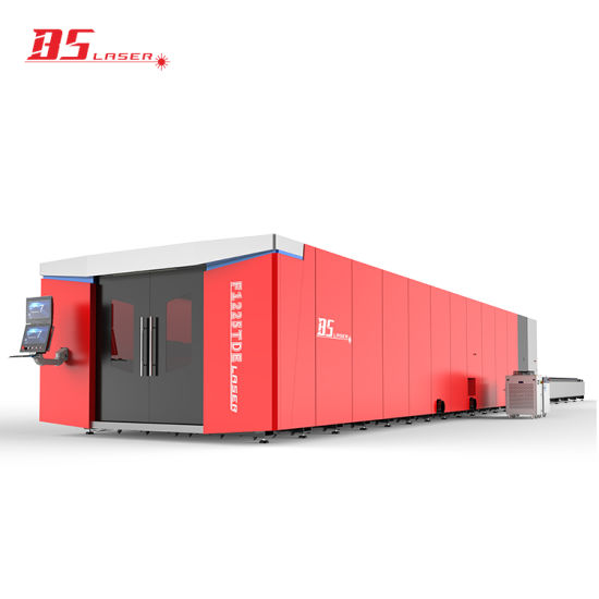 High Precision Protective Closed Type Sheet Metal Fiber Laser Cutting Machine with Exchange Table