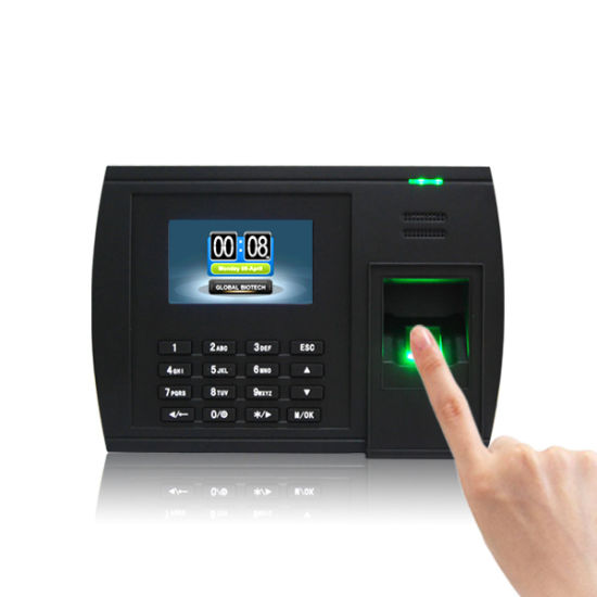 (Model 5000T-C) Biometric Fingerprint Time Attendance System