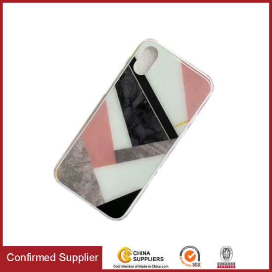 New Design Cute Epoxy Print Marble Mobile Accessories Phone Case pictures & photos