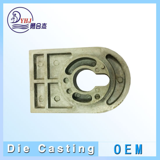 OEM Aluminum and Zinc-Alloy Die Casting Parts for Building Hardware in China