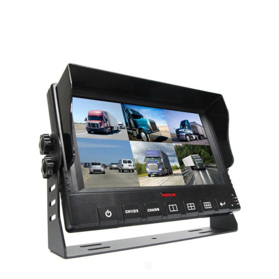 HD 6channel Car DVR with 9inch Monitor