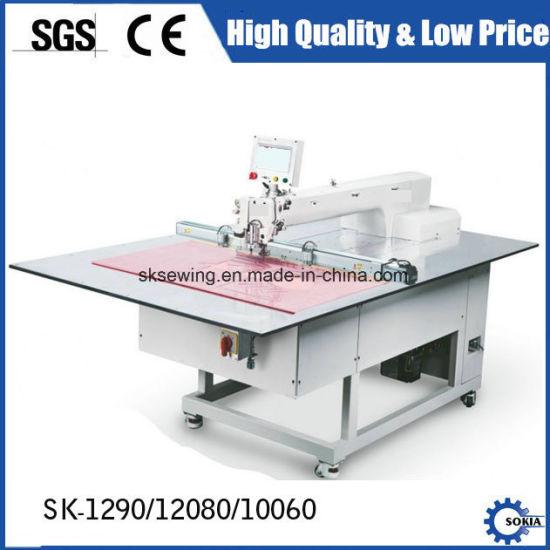China 12080 Automatic Pattern Making Computer Program Sewing Machine ...