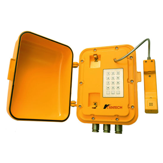 VoIP Explosion Proof Telephone Knex-7 with Loudspeaker and Light
