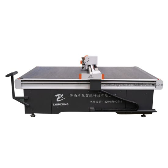 Advertising Machinery CNC Kt PVC Foam Board Acrylic Sticker Cutting Machine with Positioning Camera
