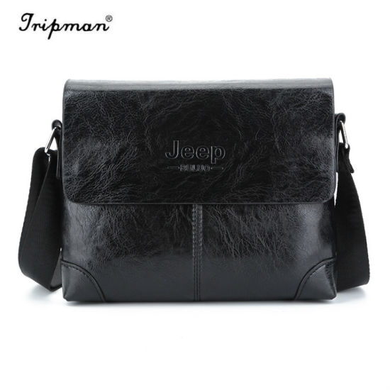Messenger Men Travel Crossbody Bags Tassen Leather Men′s HIWD2beY9E