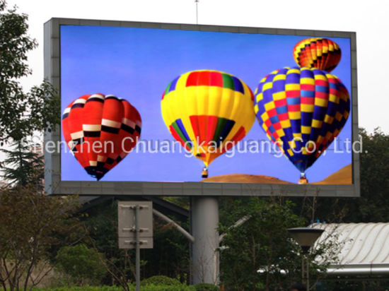 High Brightness P5, P6, P8, P10mm Waterproof Outdoor LED Billboard Sign LED Display Screen for Advertising