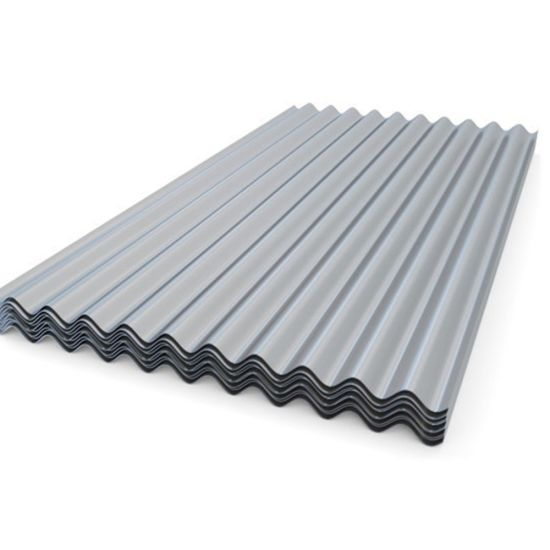 Z180GSM Long Span Zinc Coated Steel Roofing Sheet