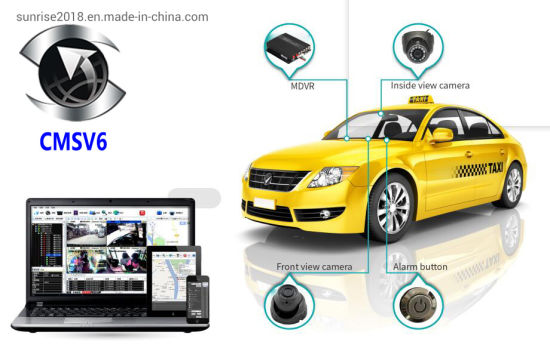Support Stop Engine Function Taxi Bus Truck Vehicle Mobile GPS 4G DVR pictures & photos