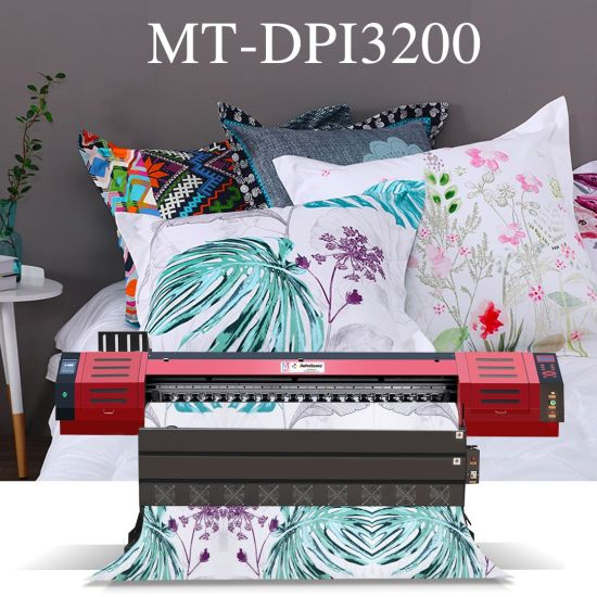 Mt Mtutech 1.8m Large Format Sublimation Textile Printing Machine with I3200 Printhead for Sale