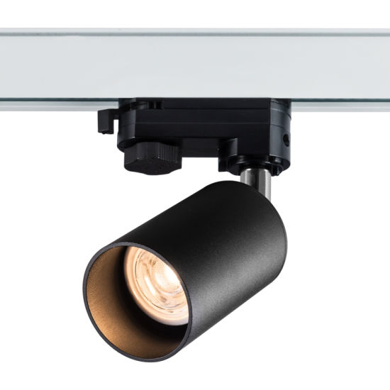 Project Commercial Track Light Indoor LED Luminaire GU10 Spotlight Housing