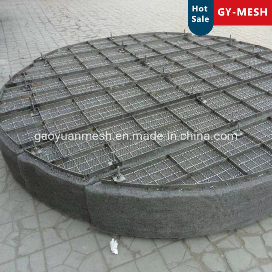 Stainless Steel Knitted Wire Mesh Gas Liquid Wire Mesh for Demister Anping Factory