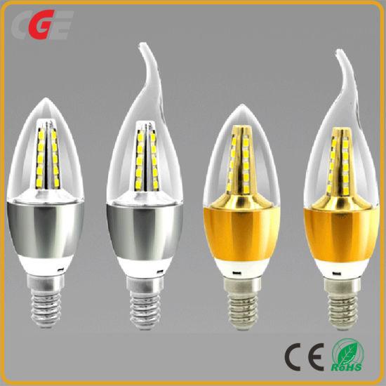 LED Candle Energy Crystal Lamp Saving Lamp Light Bulb Home Lighting Decoration
