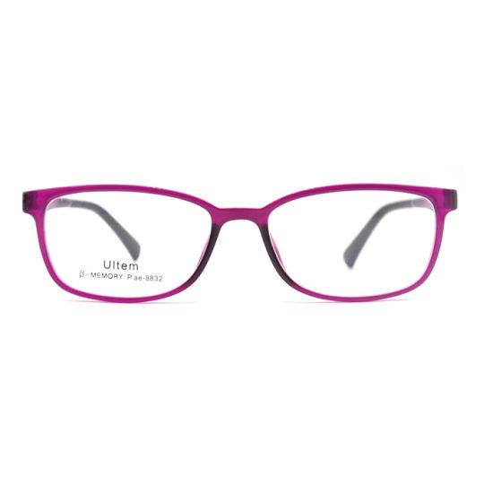 OEM Custom Logo Ultem Women Optical Frames with Screw Hinge