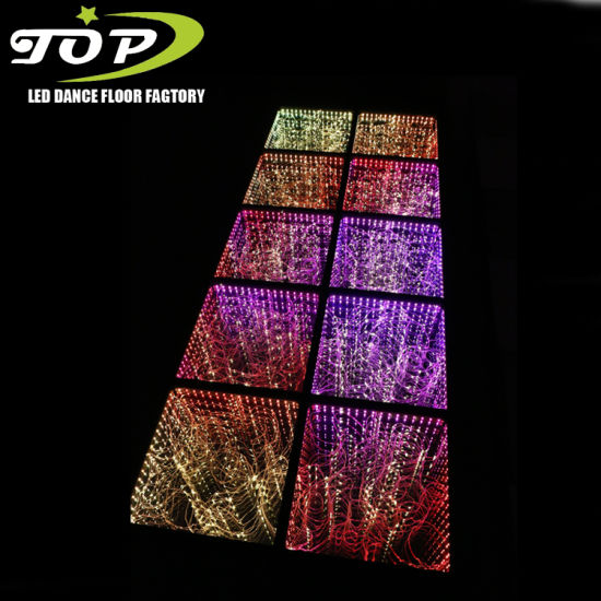 China Suppliers Make Sparkle LED Light Starlit 3D Dance Floor