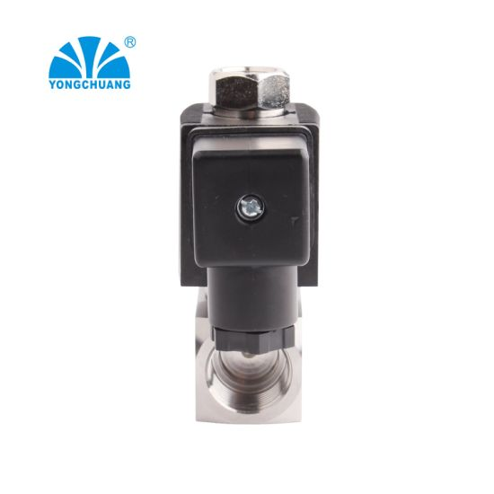 Air Silicone Stainless Steel Low Pressure Normally Open Ventilator Exhalation Solenoid Valve 24V