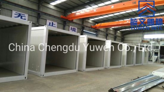 Cost and Labor Saving Flat Pack Prefab Container Van House