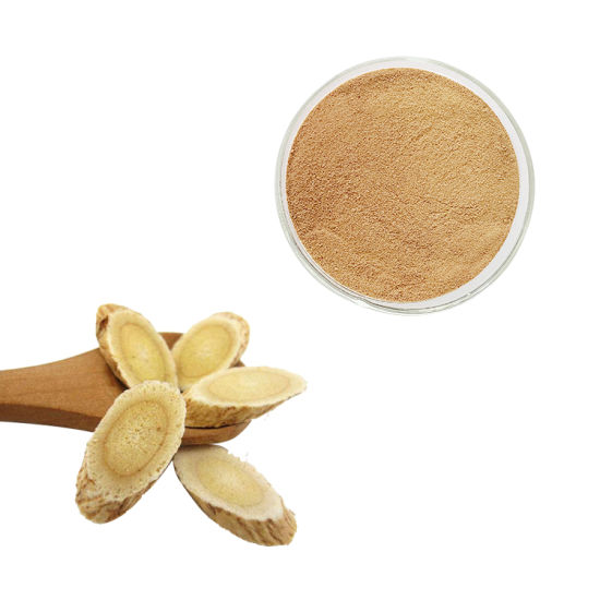 Anti - Cancer Herbal Astragalus Extract Powder Brown to Yellow Fine Powder Astragalosides