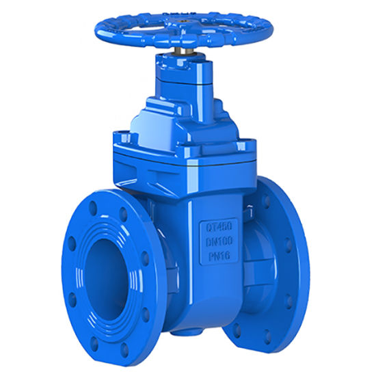 China Resilient Seated Flange End Non Rising Gate Valve - China Gate Valves,  Gate Valve