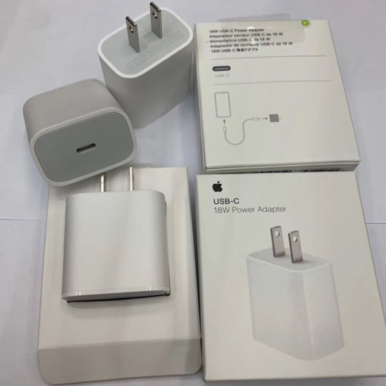 Original Fast Charging 18W USB-C Power Adapter for iPhone 11 PRO Max Pd Charger