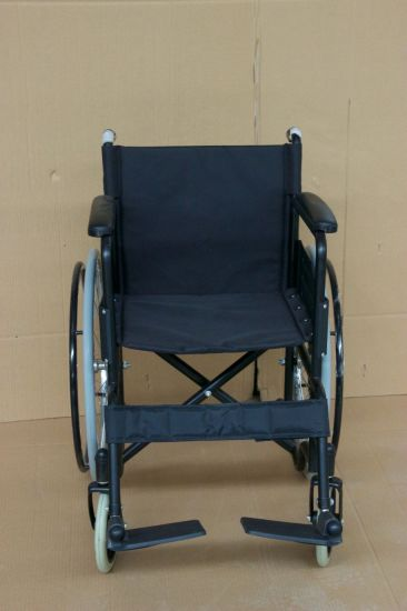 FDA Ce Approved Health Care Portable Light Weight Handicapped Folding Wheelchair