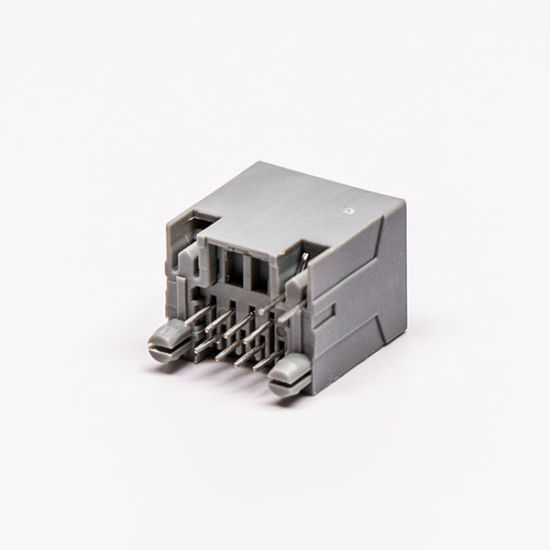 High Quality One Slot Female RJ45 Connector with One LED