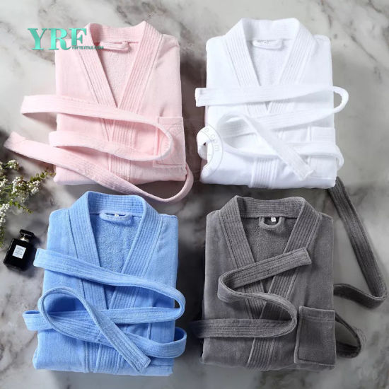 100% Manufacturer 5-Star China Top Hotel Velour Bathrobe
