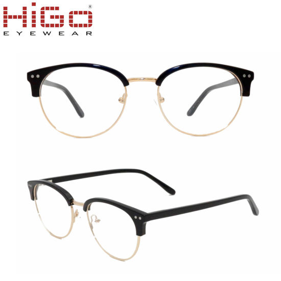 ccd5008a38 China 2018 Round Spectacles Glasses Ready Stock with Four Color ...