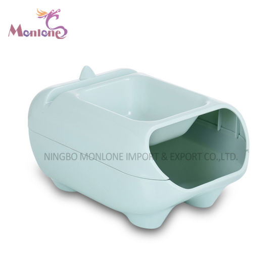 Multi-Purpose Lazy Double Deck Plastic Storage Box for Various Snacks 25.5*17.5*12.5cm pictures & photos